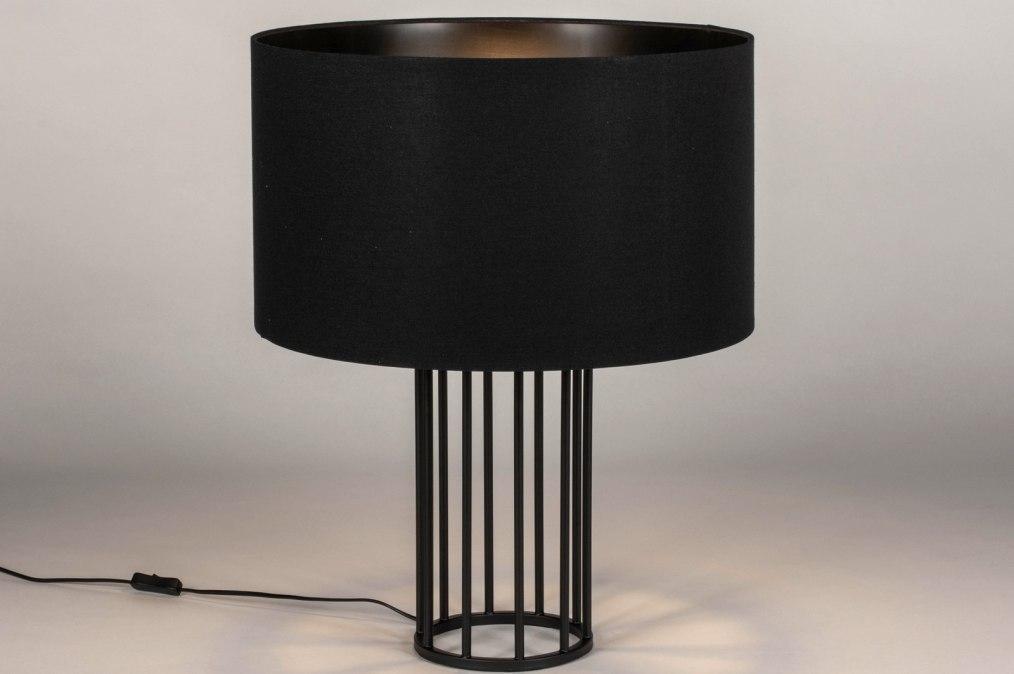 Tafellamp 73728: industrie, look, modern, stof #0