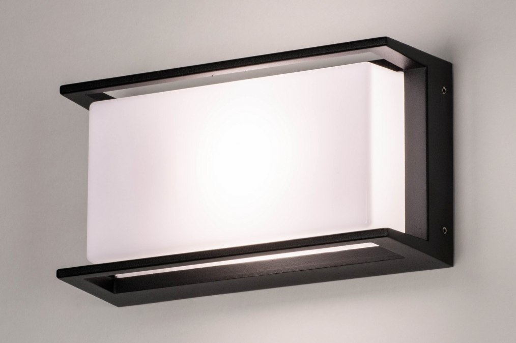 Wandlamp 73741: modern, aluminium, kunststof, polycarbonaat #0