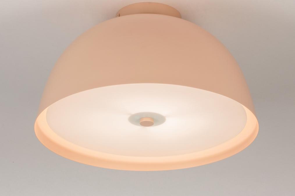 Plafondlamp 73817: sale, modern, metaal, roze #0
