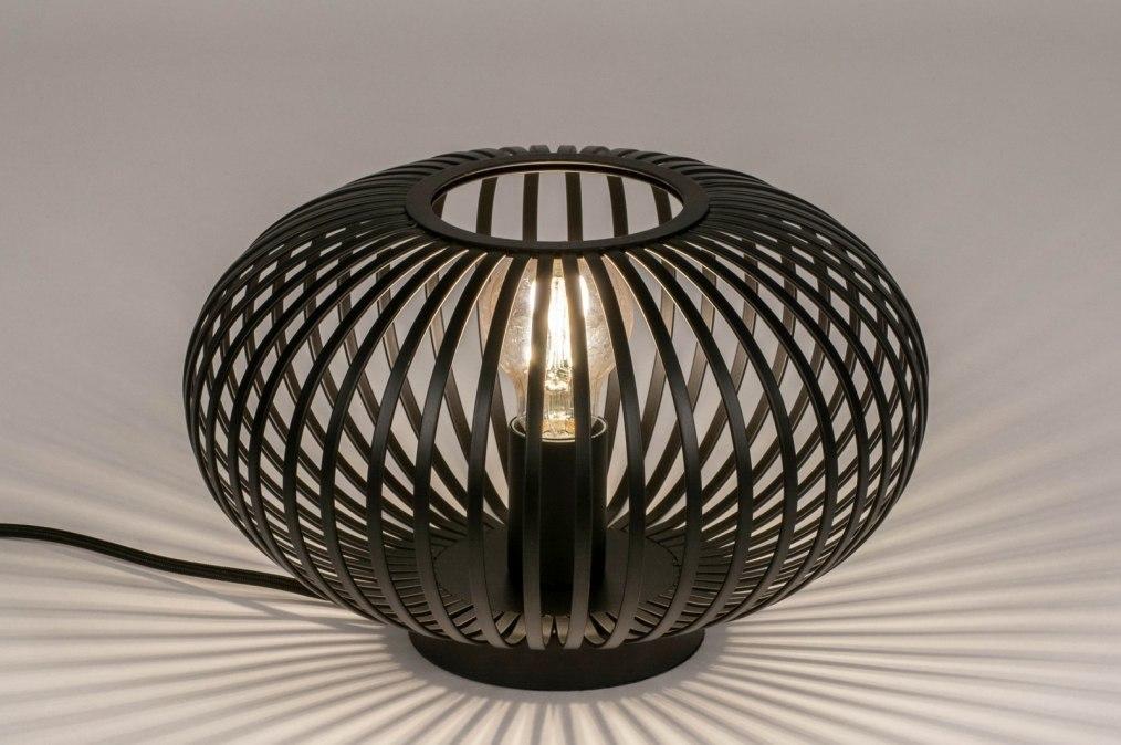 Tafellamp 73836: industrie, look, landelijk, rustiek #0