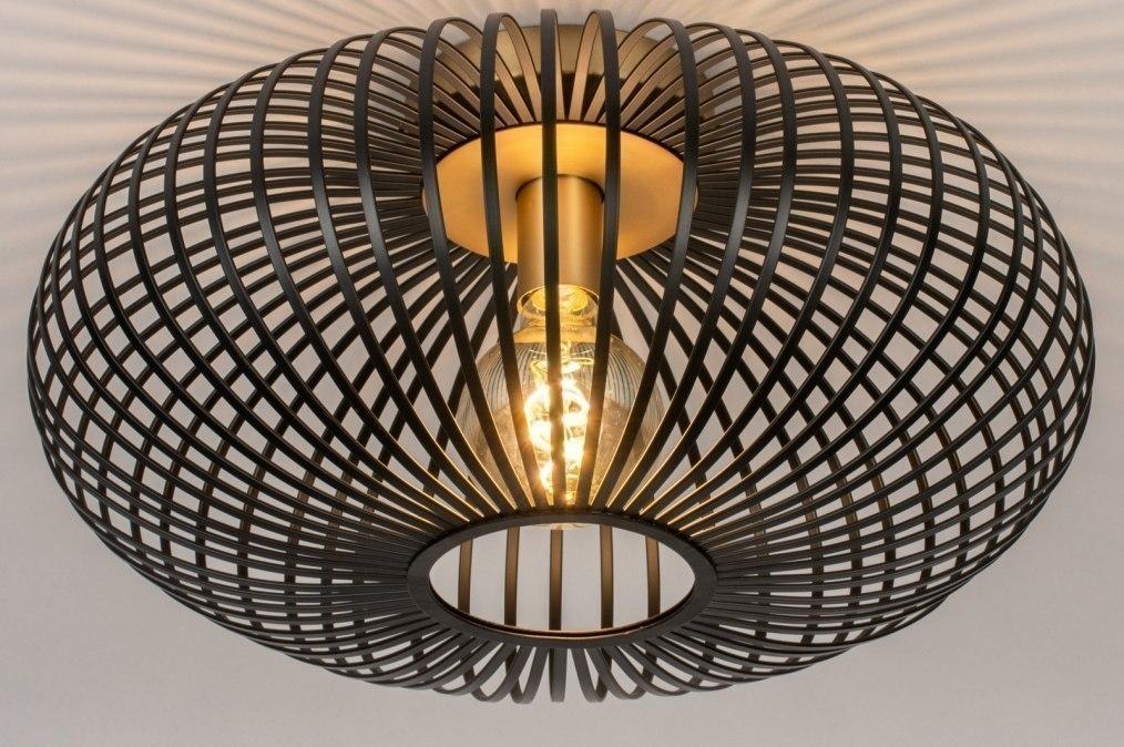 Plafondlamp 73841: industrie, look, landelijk, rustiek #0