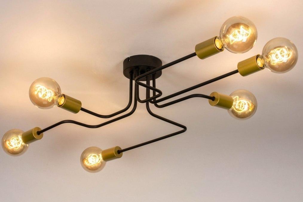 Plafondlamp 73863: industrie, look, modern, retro #0