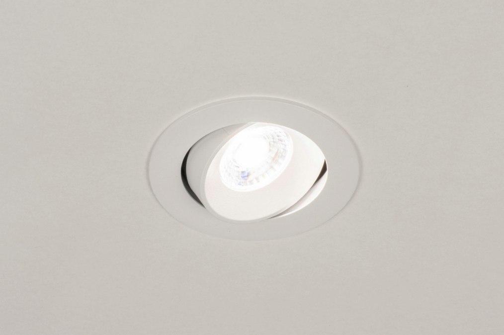 Einbauspot 73876: Design, laendlich rustikal, modern, Aluminium #0