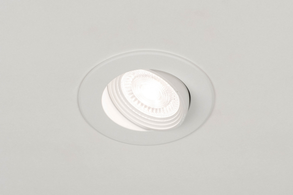 Spot encastrable 73882: rural rustique, moderne, aluminium, plastique #0