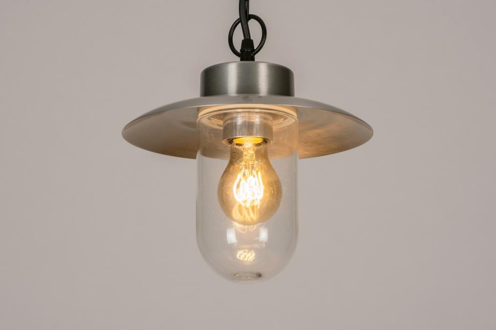 Buitenlamp 73893: landelijk, rustiek, modern, aluminium #0