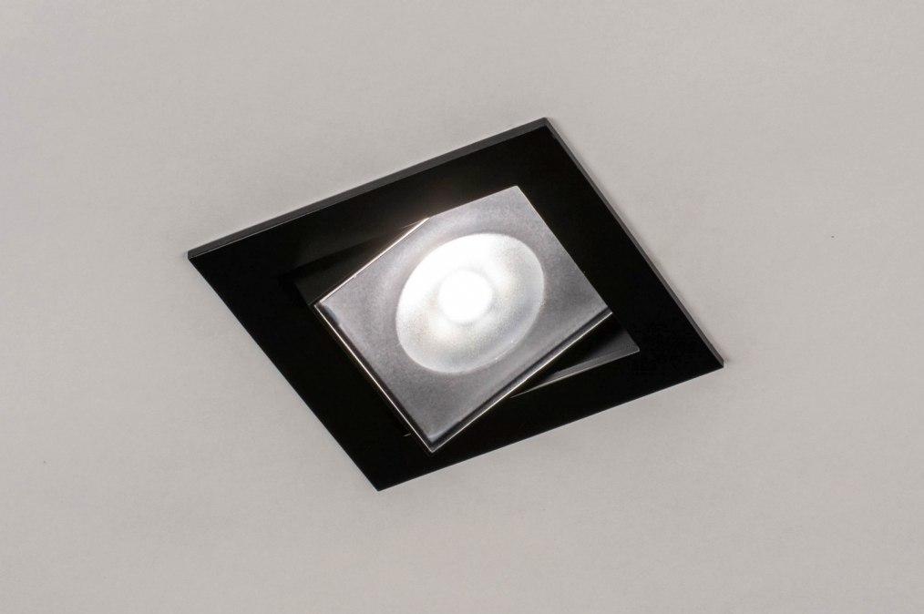 Inbouwspot 73896: design, modern, aluminium, metaal #0