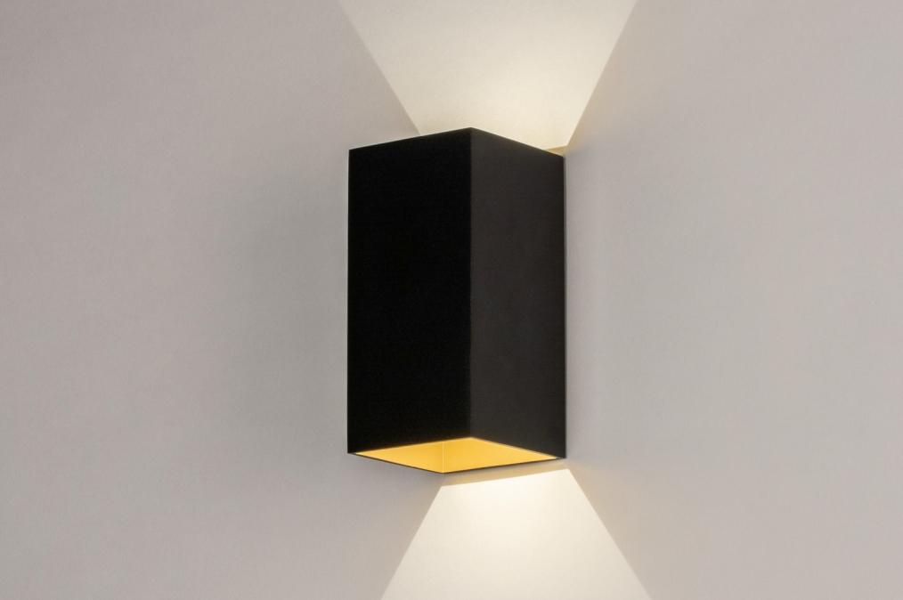 Wandlamp 73909: design, modern, aluminium, metaal #0