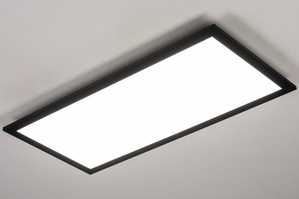 Plafondlamp 73912: design, modern, aluminium, kunststof #0