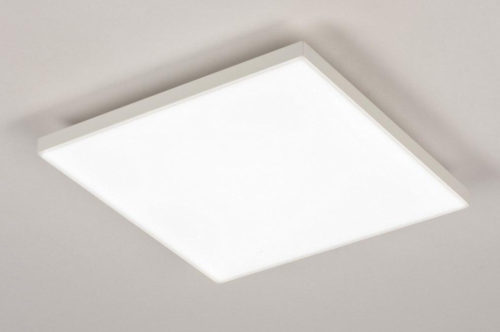 Plafondlamp 73913: design, modern, kunststof, metaal #0