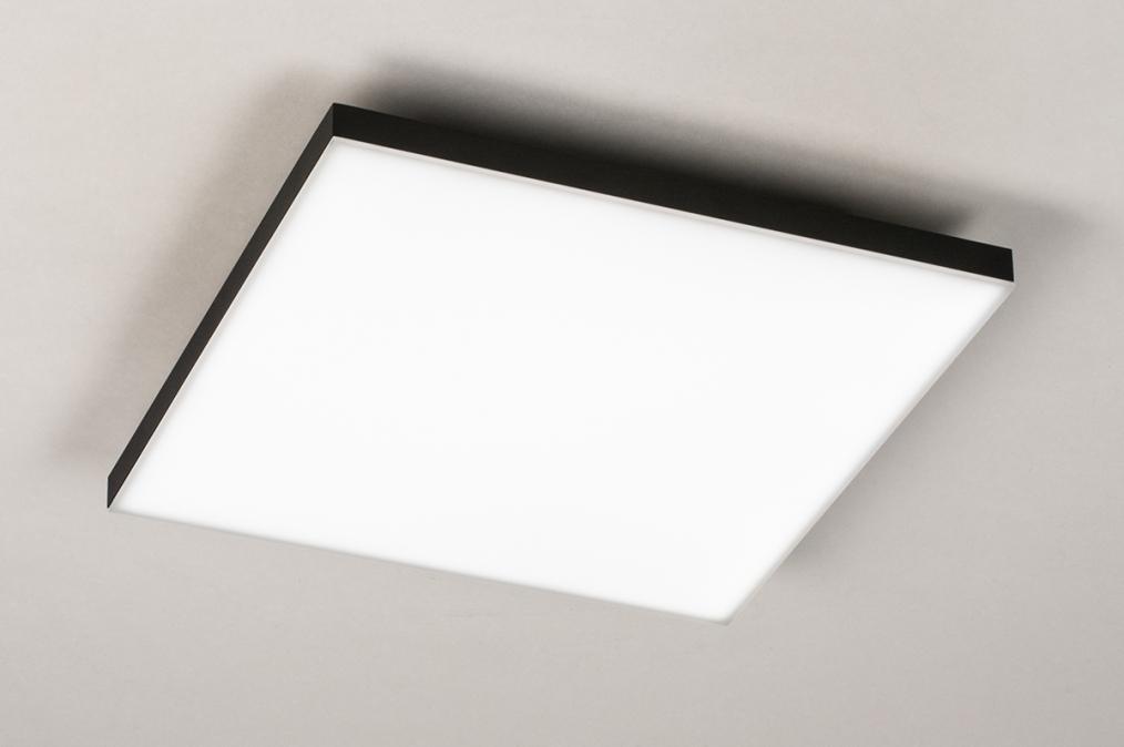 Plafondlamp 73915: design, modern, kunststof, metaal #0