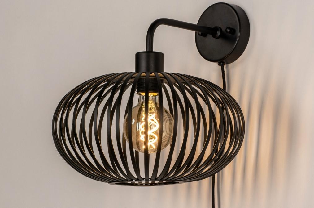 Wandlamp 73922: landelijk, rustiek, modern, retro #0