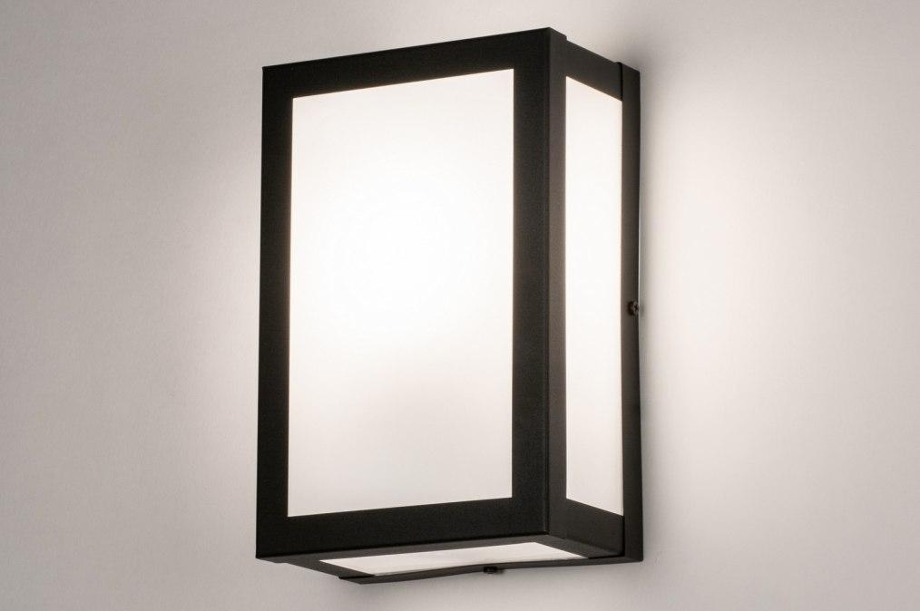 Eclairage exterieur 73923: look industriel, rural rustique, moderne, verre #0