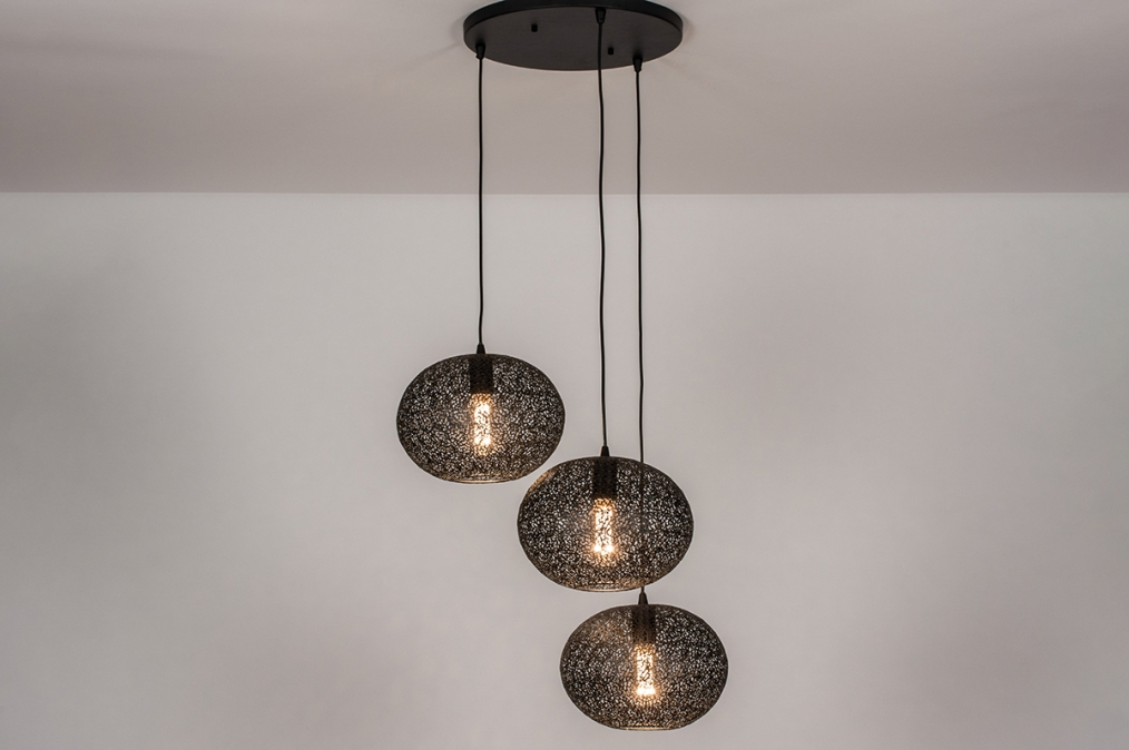 Hanglamp 73949: landelijk, rustiek, modern, eigentijds klassiek #0