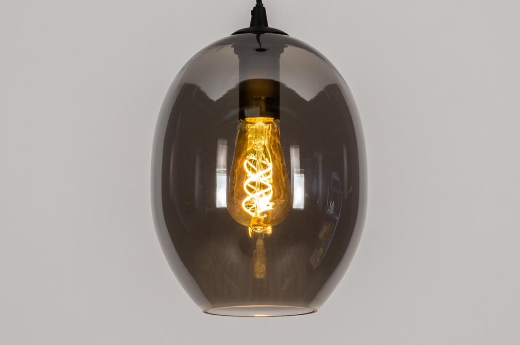 Hanglamp 73953: modern, retro, eigentijds klassiek, glas #0