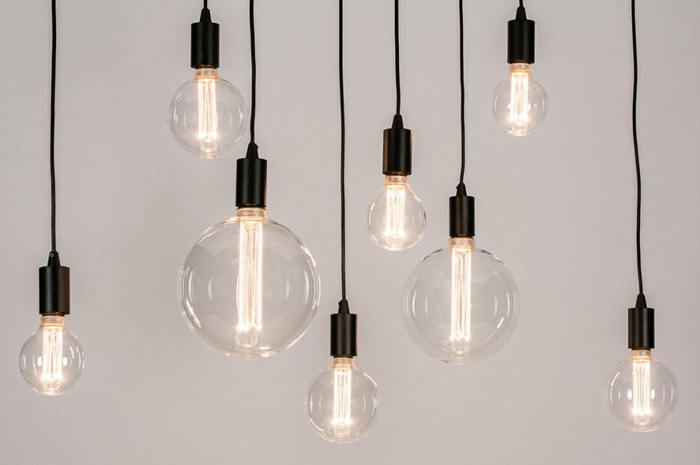 Hanglamp 73960: industrie, look, modern, metaal #0