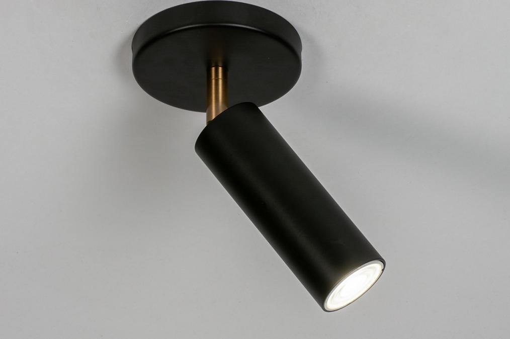 Plafondlamp 73980: design, landelijk, rustiek, modern #0