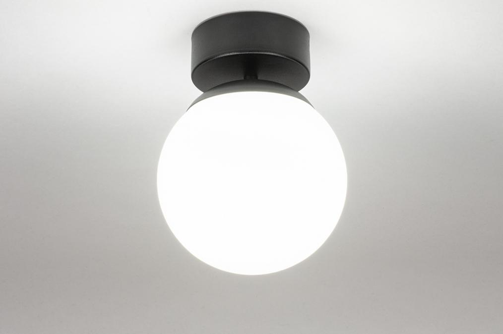 Plafondlamp 73990: sale, modern, retro, glas #0