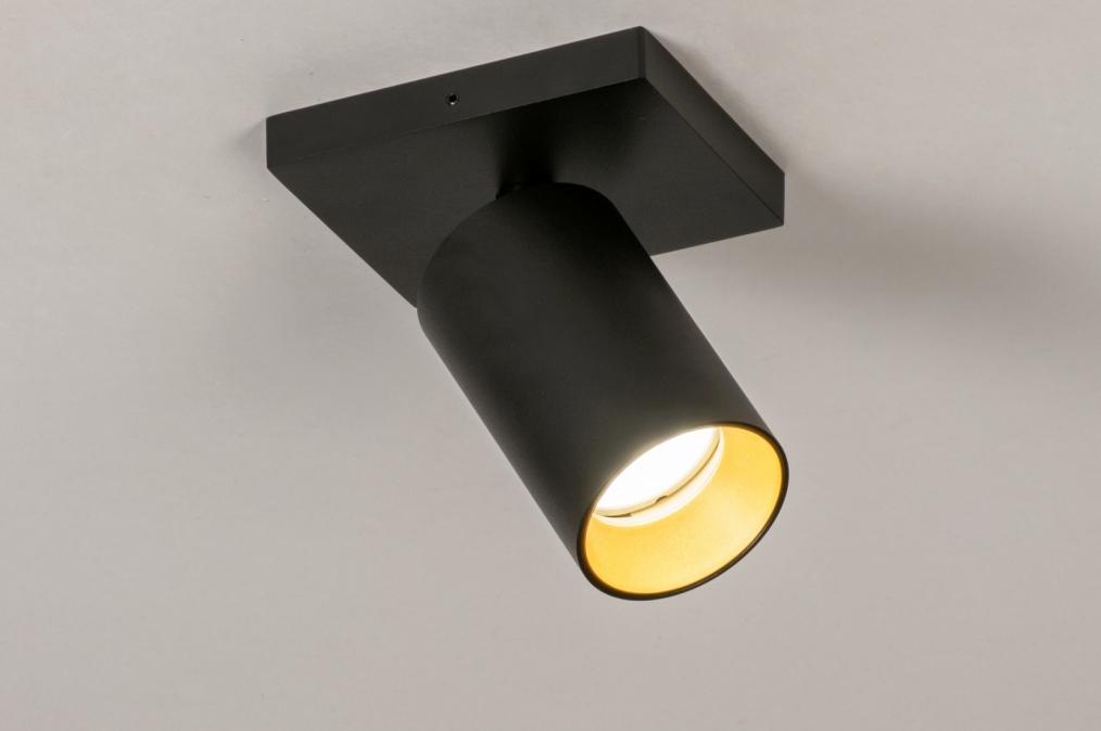 Spot 73999: moderne, aluminium, acier, noir #0