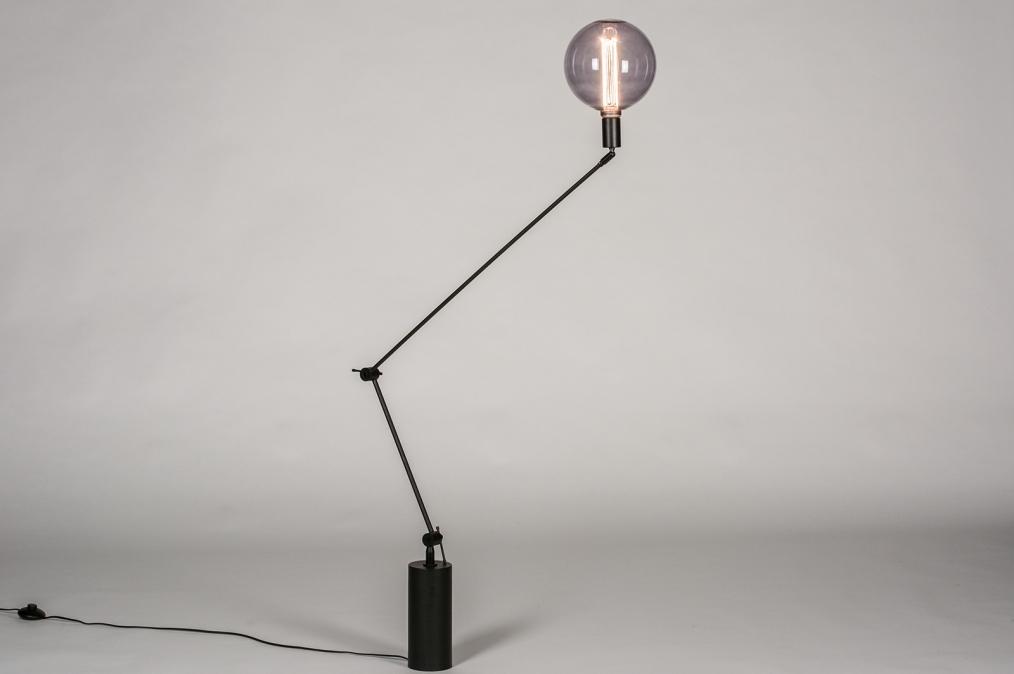 Vloerlamp 74012: industrie, look, modern, retro #0