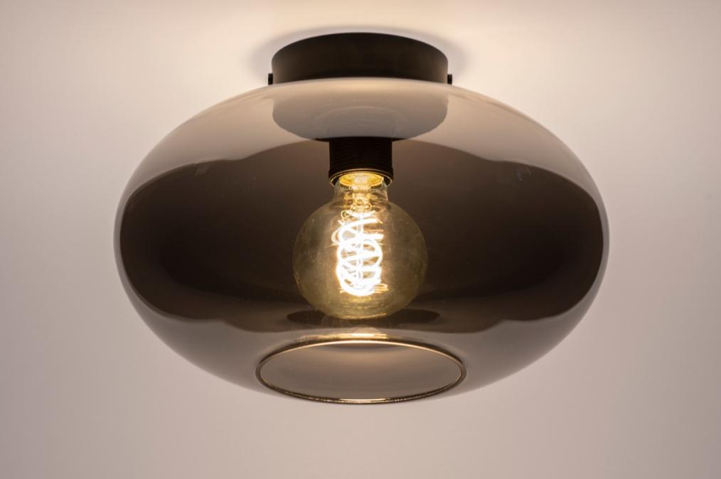Plafondlamp 74016: modern, retro, eigentijds klassiek, art deco #0
