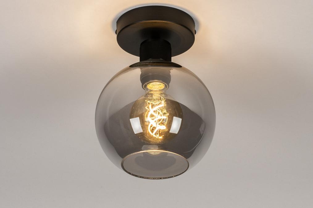 Plafondlamp 74040: modern, retro, eigentijds klassiek, art deco #0