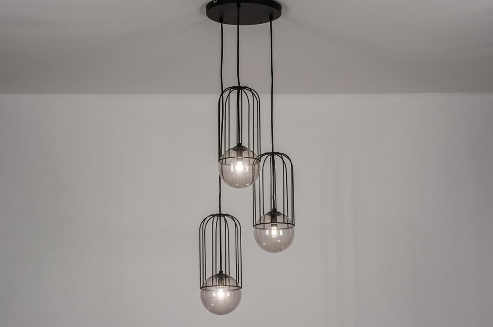 Hanglamp 74045: sale, modern, glas, metaal #0