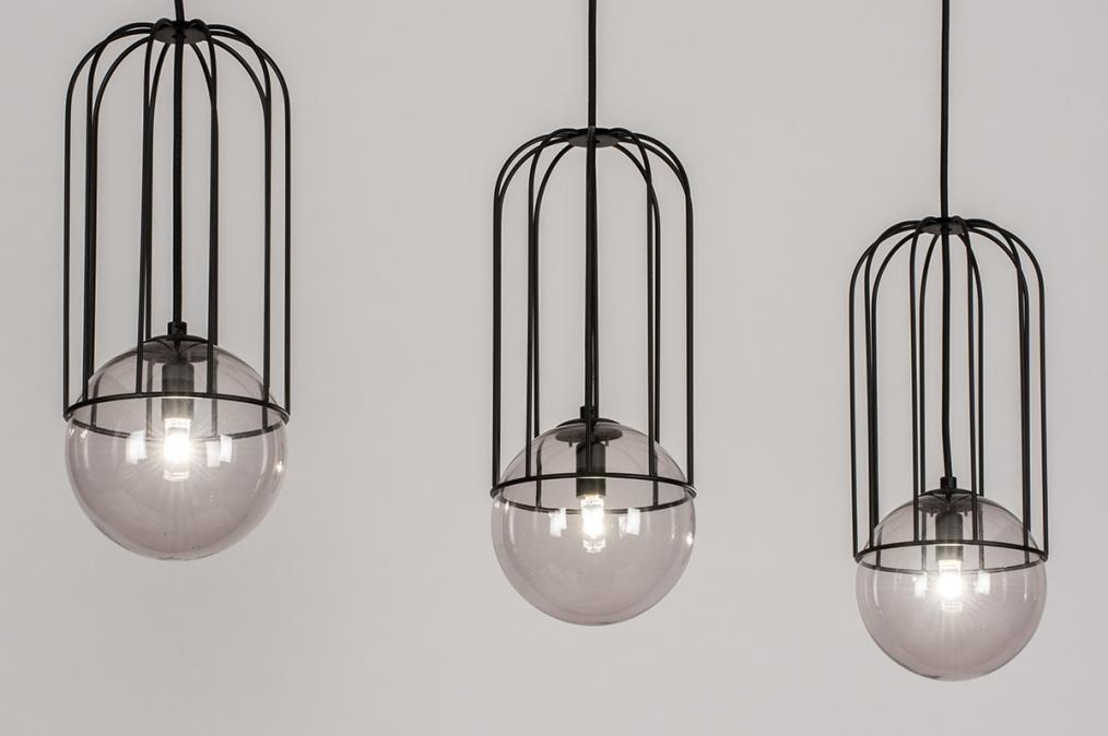 Hanglamp 74047: sale, modern, glas, metaal #0