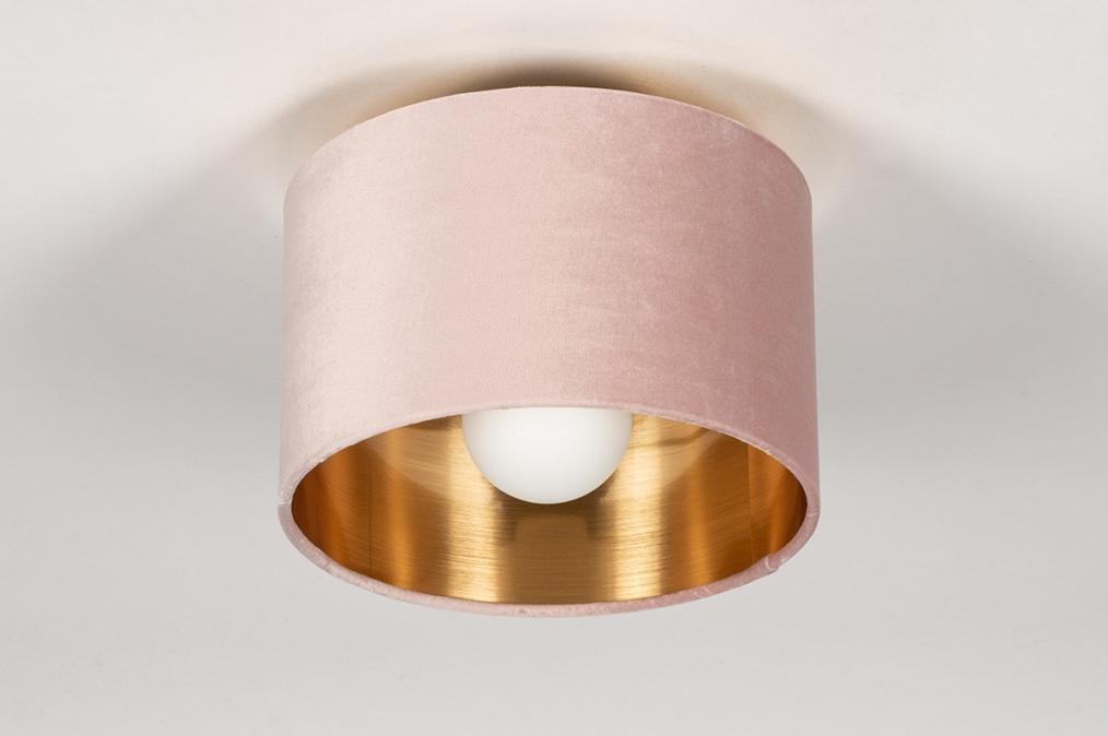 Onderdeel 74055: stof, goud, roze #0