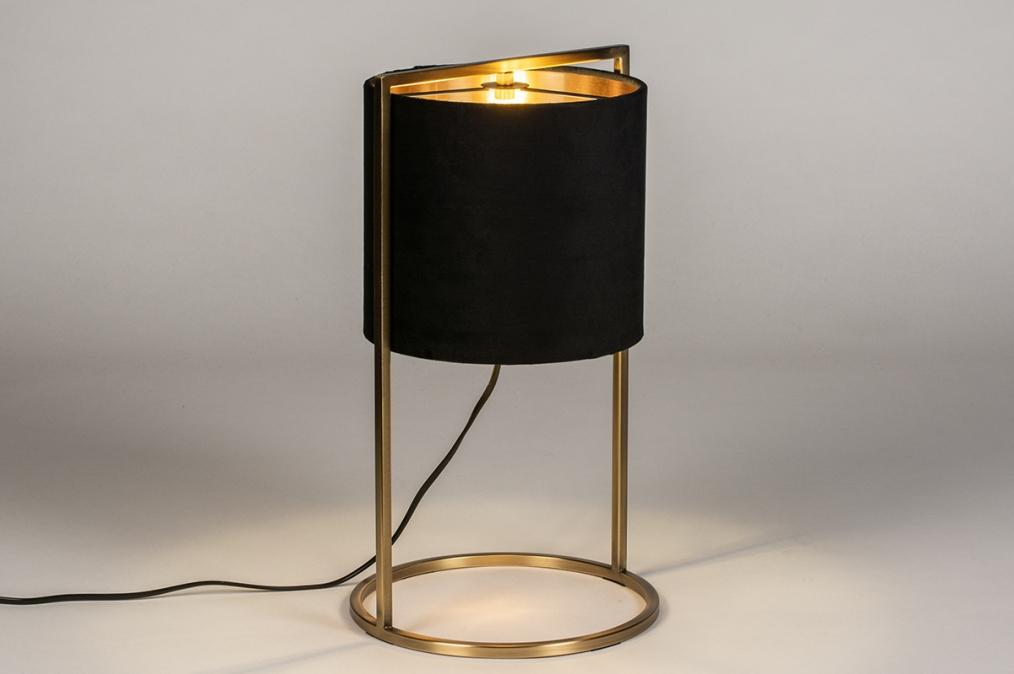 Tafellamp 74083: landelijk, rustiek, modern, eigentijds klassiek #0