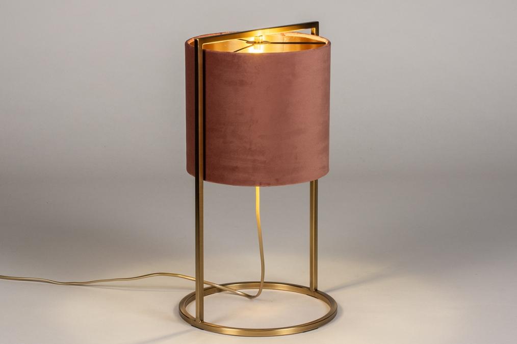 Tafellamp 74084: landelijk, rustiek, modern, eigentijds klassiek #0