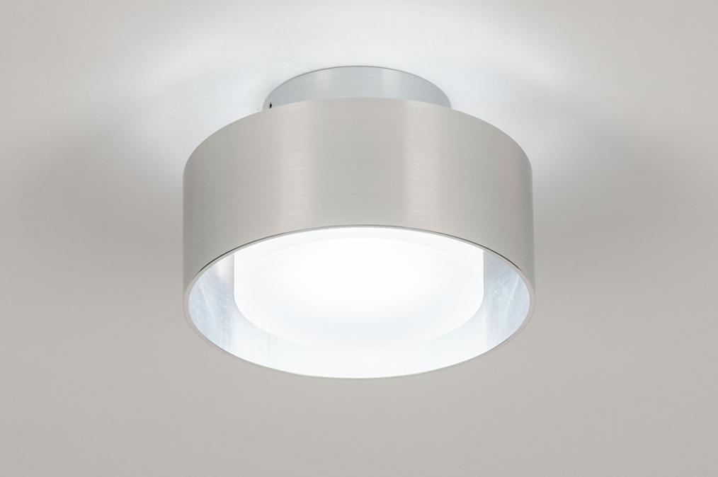 Plafondlamp 74091: design, modern, retro, aluminium #0