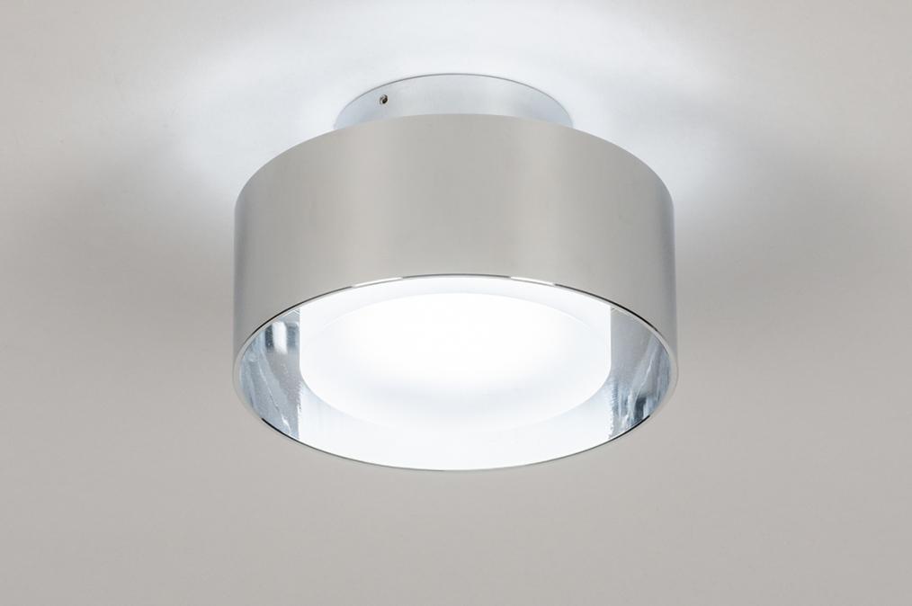 Plafondlamp 74092: design, modern, retro, aluminium #0