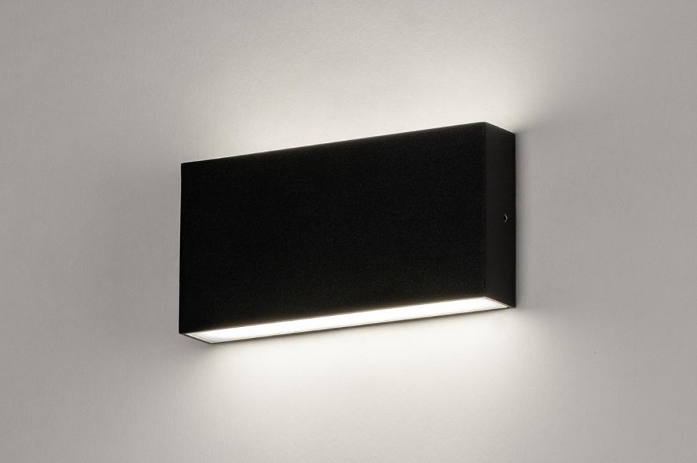 Wandlamp 74095: design, modern, aluminium, metaal #0