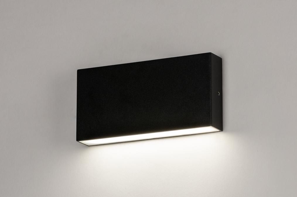 Wandlamp 74096: design, modern, aluminium, metaal #0