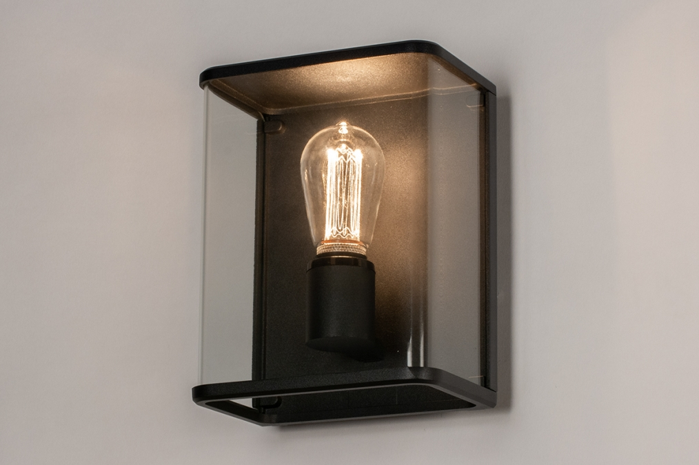 Aussenleuchte 74101: laendlich rustikal, modern, zeitgemaess klassisch, Glas #0