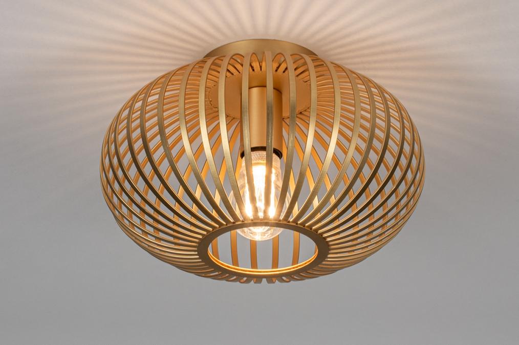 Plafondlamp 74110: modern, retro, eigentijds klassiek, art deco #0