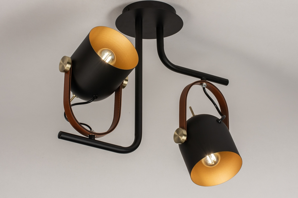 Plafondlamp 74153: industrie, look, modern, eigentijds klassiek #0