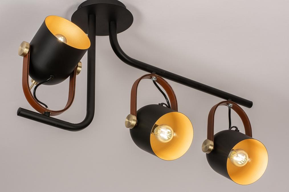 Plafondlamp 74154: industrie, look, modern, eigentijds klassiek #0
