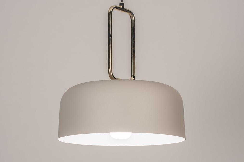 Hanglamp 74184: design, modern, eigentijds klassiek, messing #0