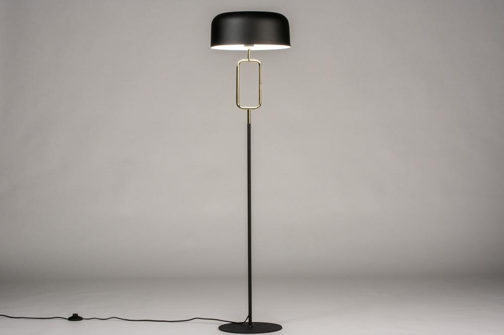 Vloerlamp 74187: sale, modern, eigentijds klassiek, messing #0