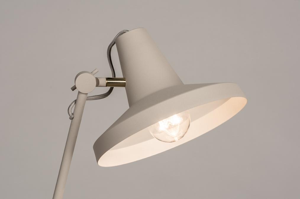 Vloerlamp 74188: metaal, grijs, zand #0