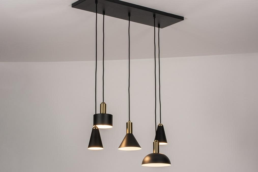 Hanglamp 74190: landelijk, rustiek, modern, eigentijds klassiek #0