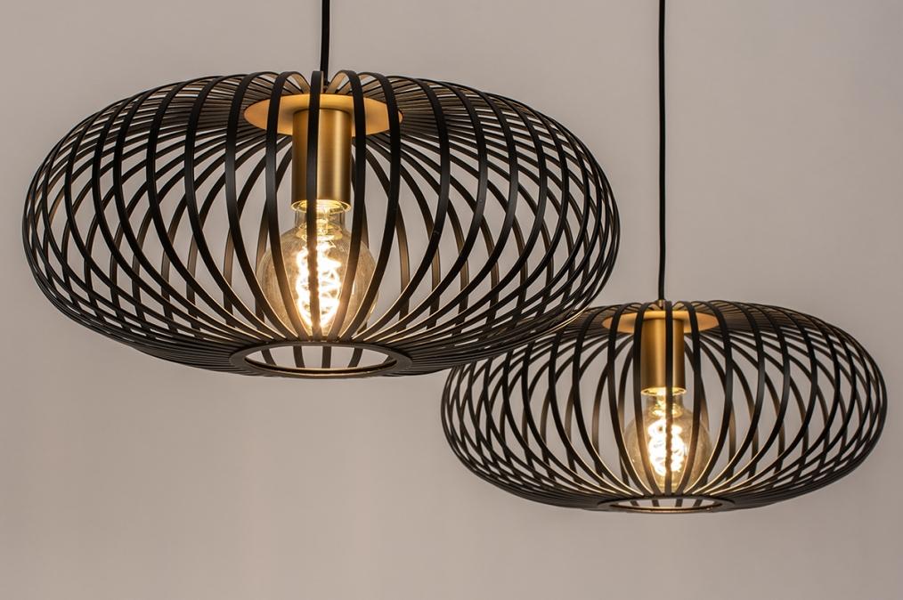 Hanglamp 74246: industrie, look, landelijk, rustiek #0