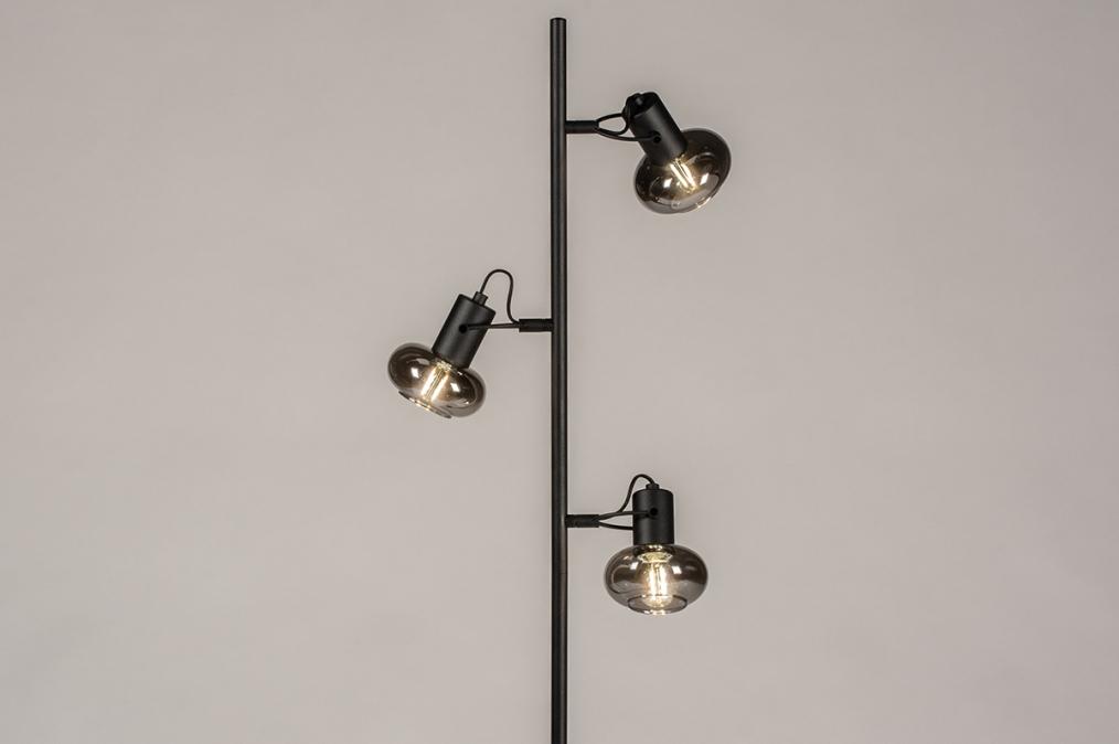 Vloerlamp 74249: modern, retro, eigentijds klassiek, art deco #0