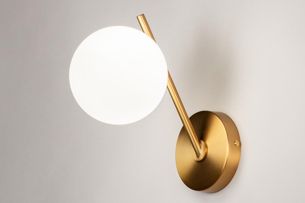 Wandlamp 74259: modern, klassiek, eigentijds klassiek, art deco #0