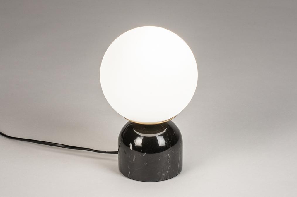 Tafellamp 74263: landelijk, rustiek, retro, klassiek #0