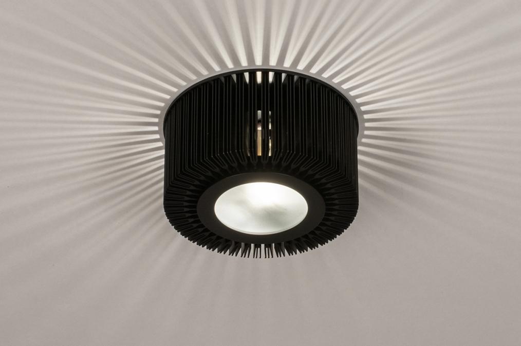 Plafondlamp 74284: industrie, look, design, modern #0