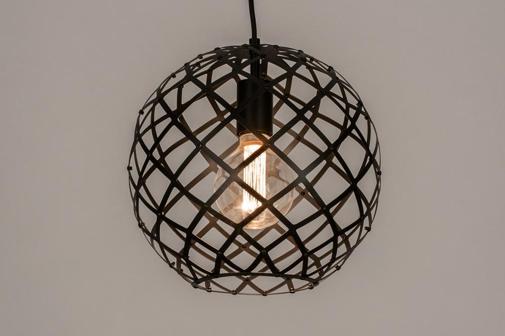Hanglamp 74309: industrie, look, landelijk, rustiek #0