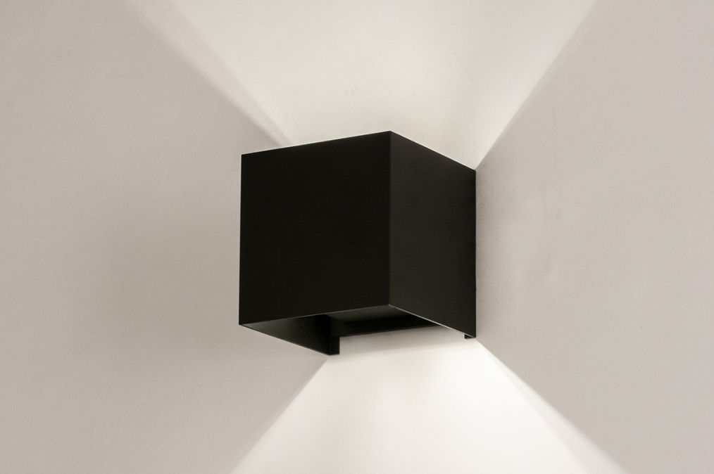 Wandlamp 74316: industrie, look, modern, aluminium #0