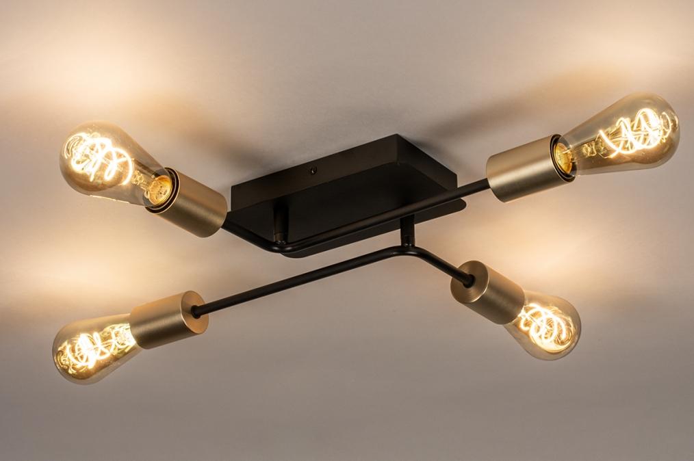 Deckenleuchte 74320: Industrielook, laendlich rustikal, modern, coole Lampen grob #0